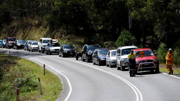 Drivers are being urged to behave on the road as Canberrans flock to the coast for the holidays.