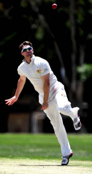 ACT Comets off-spinner Shane Devoy.