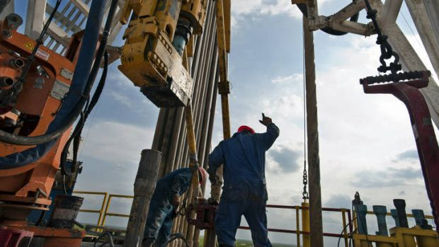 Vexed: Drilling in shale has its opponents.