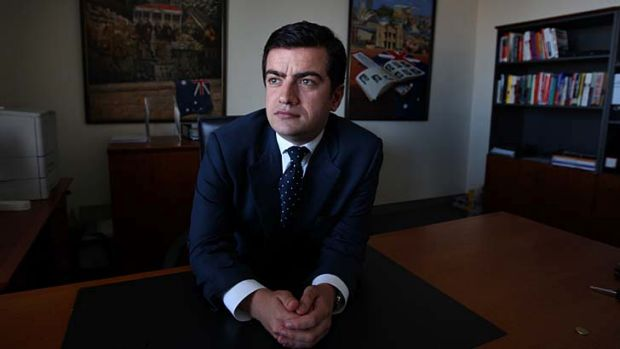 Appalled ...  Sam Dastyari, NSW general secretary.