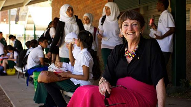 ''These are the very sorts of people Australia wants'' ... Principal Dorothy Hoddinott.