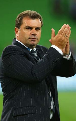Ange Postecoglou says he has been a Liverpool fan almost his whole life.
