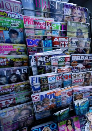 'I can't decide if those new, edgy magazines are upper-middlebrow or middlebrow.'