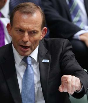 """""""Misleading the ABC is not quite the same as misleading the Parliament"""" ... Tony Abbott."""