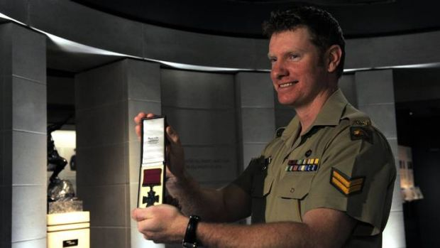 Victoria Cross recipient Corporal Daniel Keighran has loaned his medal to be displayed in the Australian War Memorial.
