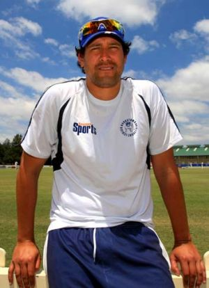 On the ball … Daryl Tuffey has achieved his first 'eight-for' since starting grade cricket with Bankstown, making ...