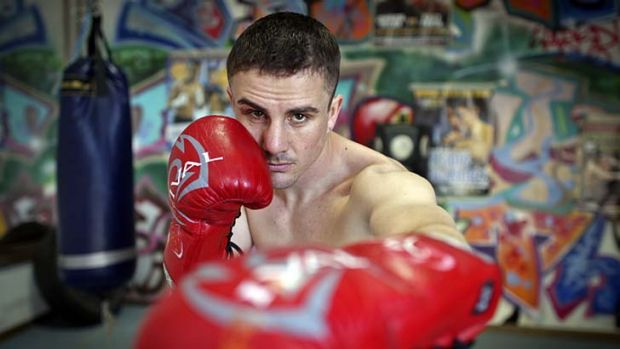Out of the shadows … Joel Brunker's focus is to fight on the Geale-Mundine undercard in January.