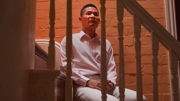 Guilty … Philip Leung at home in Alexandria in March.