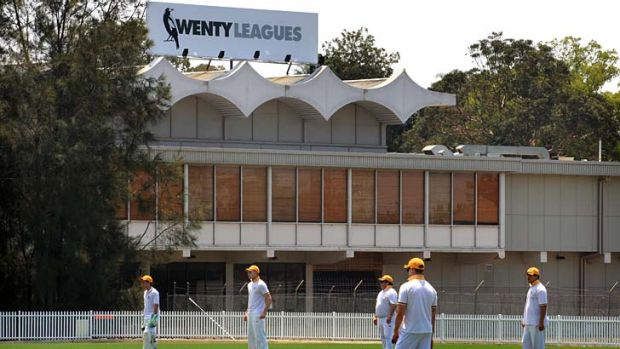 Good wicket … cricketers play at Ringrose Oval on Saturday. Wenty Leagues is upgrading the grandstand for more ...