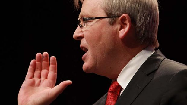 Kevin Rudd ... tipped to reclaim top job.