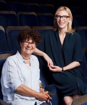 Adapt away ... Kate Grenville, left, is happy to entrust The Secret River to the STC's Cate Blanchett.