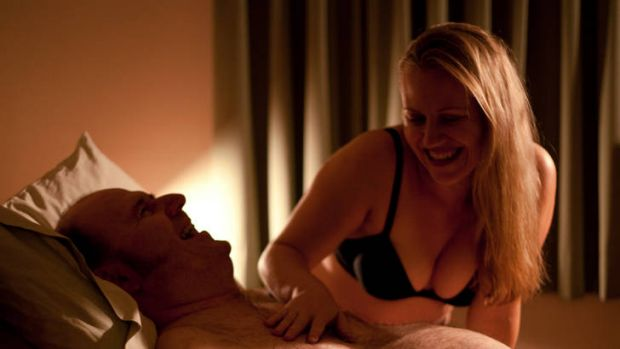 A scene from <i>Scarlett Road</i>, an Australian film about sex worker Rachel Wotton, who specialises in clients with ...