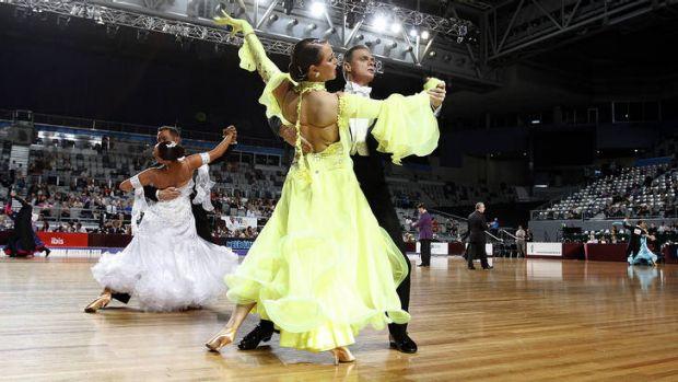 The Australian DanceSport Championships at Hisense Arena.