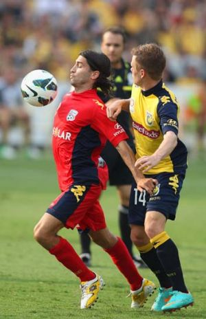 The Reds' Zenon Caravella shows his skills.