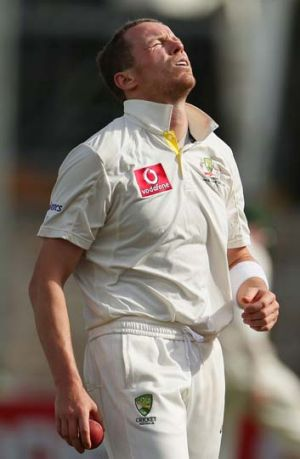 Siddle-lined: Peter Siddle has been rested for Perth.
