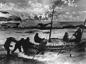 Sir Ernest Shackleton's Antarctic trip, as captured by celebrated photographer Frank Hurley.