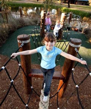 Child's play ... Safari Park playground is in the running for its outdoor designs.