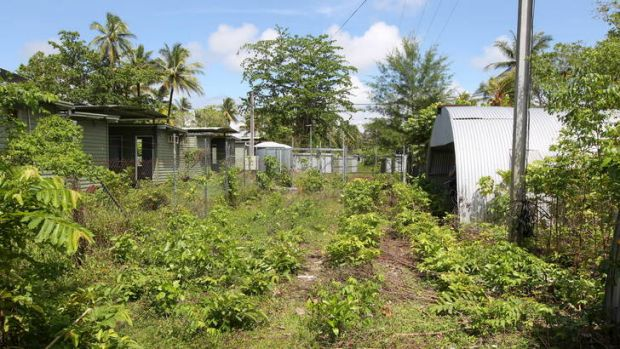 The old Manus Island Detainee facility before it's restoration to again host asylum seekers.
