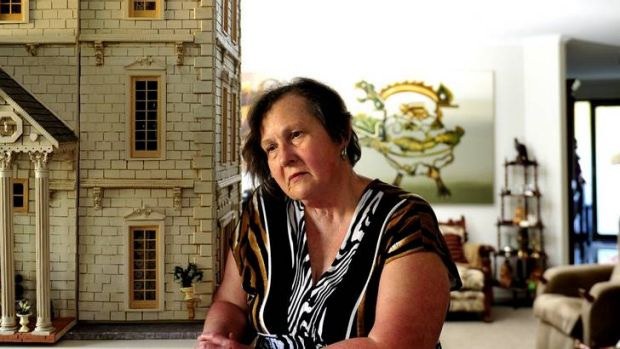 Maureen Caelli of Chifley is largely confined to her home due to the disabling effects of her progressive MS.