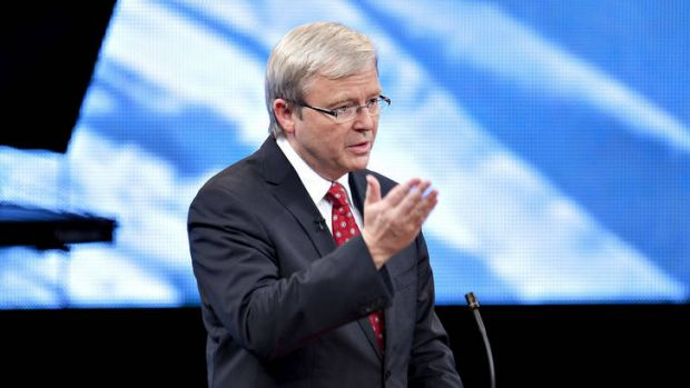 """Few speechwriters could put prime minister Kevin Rudd's """"multifarious ideas into narrative form""""."""