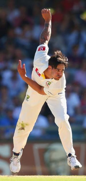 Go-to man? ... Australia's Mitchell Johnson.