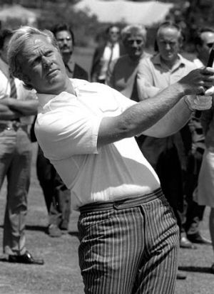 Popular ... Jack Nicklaus made the 13,000-kilometre trip to Tasmania to play in the 1971 Australian Open.