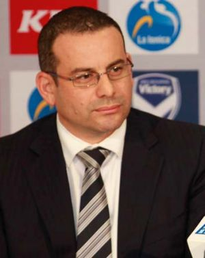 Melbourne Victory chairman Anthony Di Pietro.