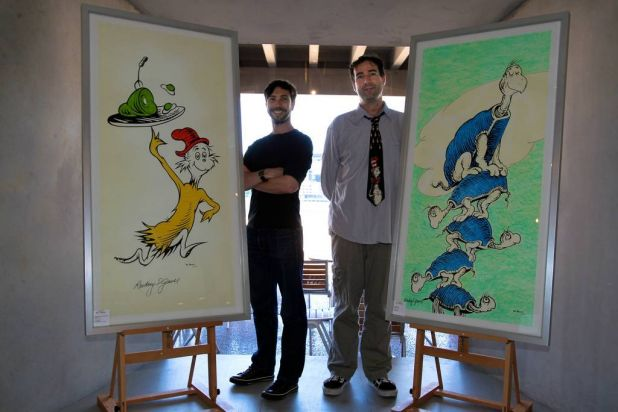 Ben Marshall and Jordan Verzar, curators of the Graphic Festival held earlier in the month at the Opera House.