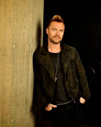 Singer/songwriter, Ronan Keating, photographed at the Penthouse, The Ivy.
