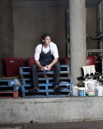 Colin Fassnidge, chef at The Four in Hand.