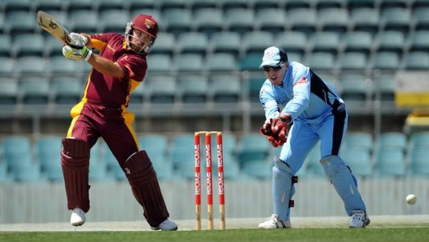 Queensland captain Chris Hartley was man of the match for his 87 runs.