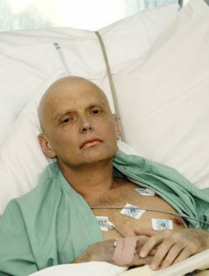 Poisoned ... Alexander Litvinenko died in suspicious circumstances in London in 2006.