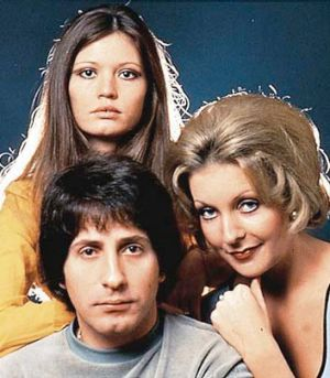 Joe Hasham, front, starred in <i>Number 96</i>.