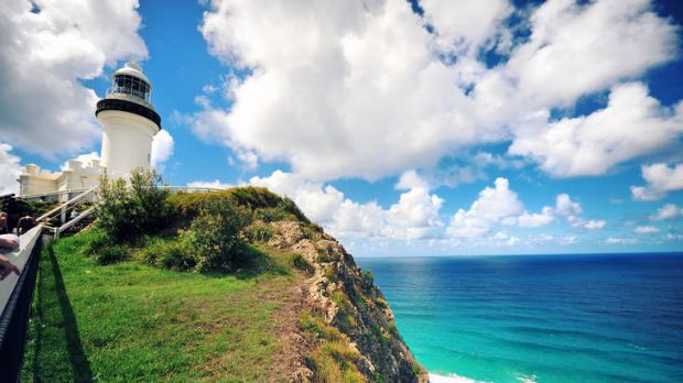 Bay watch … the lighthouse at Cape Byron.