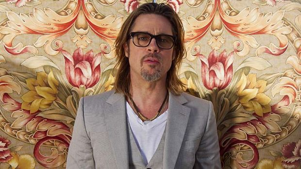 Local saviour ... Brad Pitt.