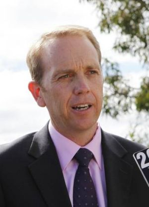 Sustainable Development Minister Simon Corbell.