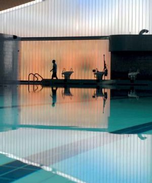 Bacteria problem ... some pools at Ian Thorpe Aquatic Centre have been forced to shut.