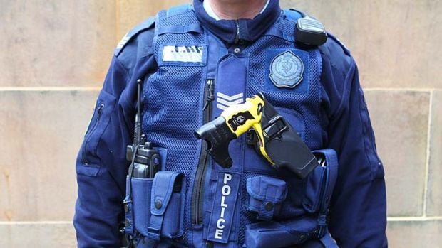 Transparency a cause a little closer to the heart ... the current NSW police force uniforms could soon be fitted out ...