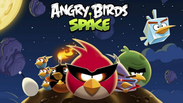 Angry Birds Space... just one of the many Angry Birds games now available to the public.