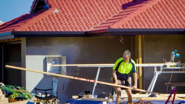 The RBA wants more activity on the housing front. Picture: Glenn Hunt