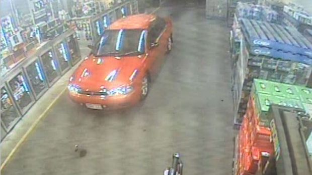 Police are hunting for the owner of this car in relation to the assault at Cockburn Gateway Shopping Centre.