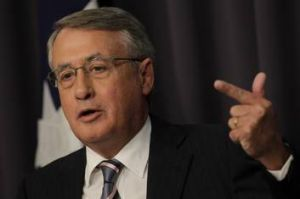 Treasurer Wayne Swan at Parliament House.