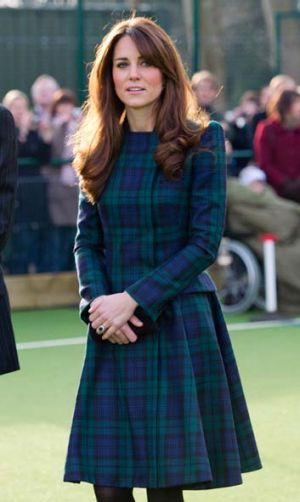 Threat ... the Duchess of Cambridge suffers from hyperemesis which could compromise her health during pregnancy.
