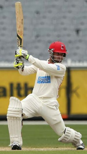 Red-hot form ... Phillip Hughes.