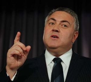 Unaffordable: Joe Hockey.