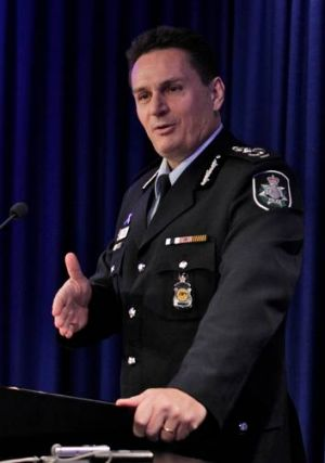 AFP Commissioner Tony Negus.