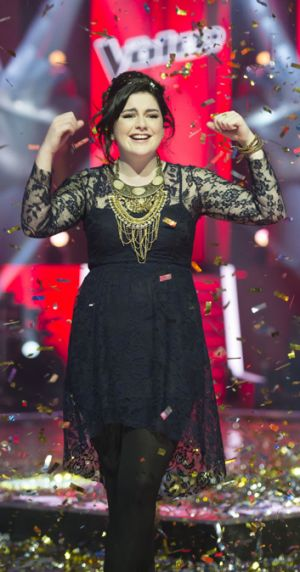 Winners are grinners: <i>The Voice</i> topped the 2012 ratings.