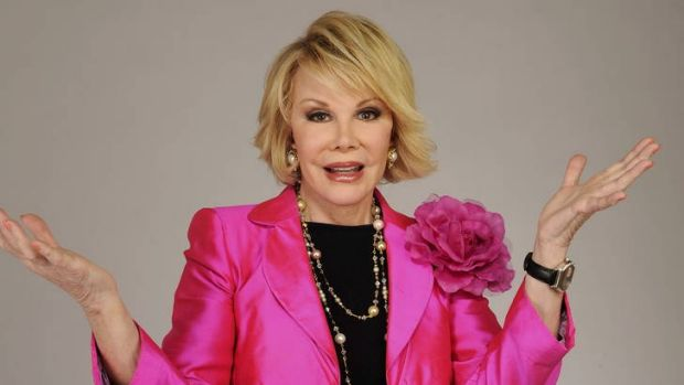 Joan Rivers emerges as a fascinating and loveable person.
