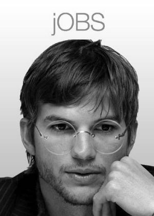 Kutcher as Jobs.