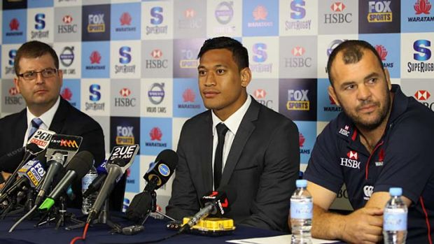 "Israel Folau ... didn't want to ""bag"" the NRL."